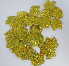 Кленовый листок (золотой перламутр).