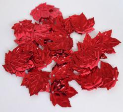 Кленовый листок (красный).