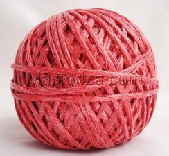 Шпагат полипропиленовый(красный). (150м)