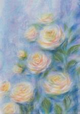 Очарование роз. Размер - 21 х 30 см.