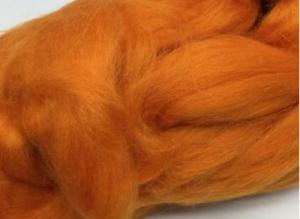 Шерсть для валяния оранжевая (035).
