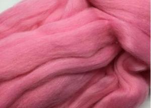 Шерсть для валяния розовая (056).
