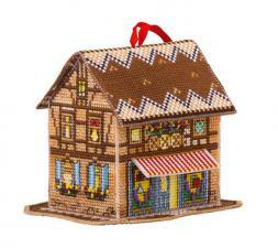 Волшебный домик. Размер - 9,5 х 10 см.