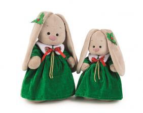 Зайка Ми в рождественском платье, мягкая игрушка BudiBasa