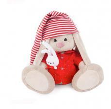 Зайка Ми в красной пижаме,18 см