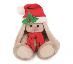 Зайка Ми в красном колпачке и шарфе (Малыш). Размер - 15 см