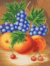 Сочные фрукты. Размер - 26 х 35 см.
