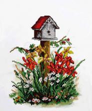 Краса и творчество | Цветы 7. Размер - 20,7 х 24,9 см