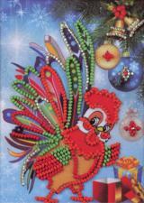 Радуга бисера (Кроше) | Петух. Размер - 10 х 15 см