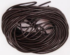 Кожаный шнур. Цвет (тёмно-коричневый).