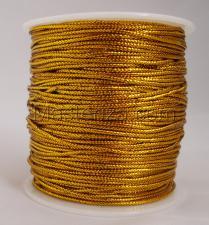 Шнур декоративный круглый. Толщина-1,5 мм,1 метр,золото