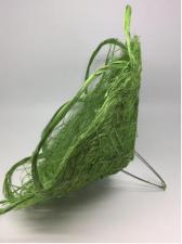 Каркас для букетов (зелёный). Размер - 40 см.