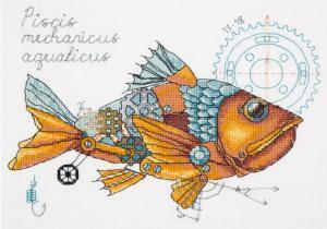 Рыба механическая. Размер - 25 х 18 см.