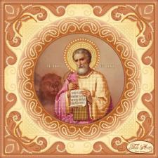 Святой Апостол и Евангелист Марк. Размер - 24 х 24 см.