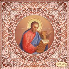 Святой Апостол и Евангелист Лука. Размер - 24 х 24 см.