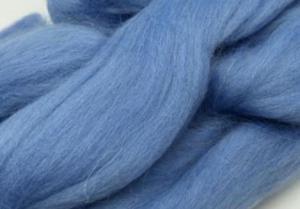 Шерсть для валяния голубая (015).