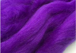 Шерсть для валяния фиолетовая (060).