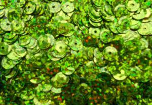 Пайетки круглые. Цвет (салатовый перламутр).