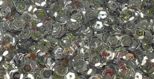 Пайетки круглые. Цвет (серебро).