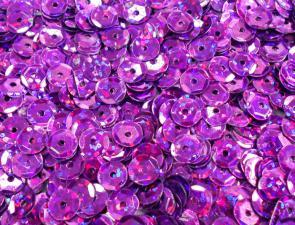 Пайетки круглые. Цвет (лиловый).