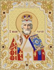Св.Николай Чудотворец. Размер - 18 х 23 см.