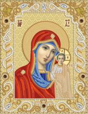 Маричка | Венчальная пара.Богородица Казанская. Размер - 18 х 23 см