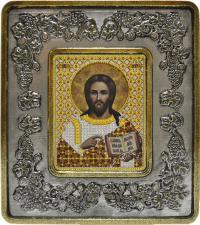 Христос Спаситель (виноград серебро).