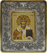 Св. Николай Чудотворец (виноград серебро).