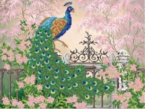 Царственная птица. Размер - 35 х 26 см.