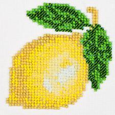 Лимон. Размер - 11 х 11 см.