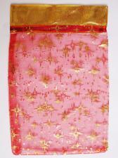 Мешочек из органзы. Цвет (красный).