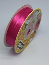 Лента атласная Skroll,3 мм,цвет№ 14 (малиновый)