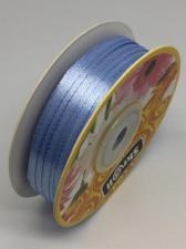 Лента атласная Skroll,3 мм,цвет№ 20 (голубой)