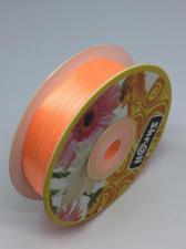 Лента атласная Skroll,3 мм,цвет№ 22 (светло-оранжевый)