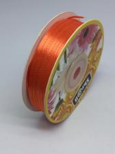 Лента атласная Skroll,3 мм,цвет№ 25 (тёмно-оранжевый)