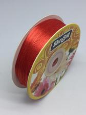 Лента атласная Skroll,3 мм,цвет№ 26 (красный)