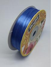 Лента атласная Skroll,3 мм,цвет№ 36 (синий)