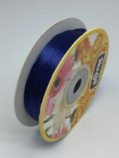 Лента атласная Skroll,3 мм,цвет№ 38 (тёмно-синий)