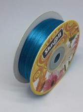 Лента атласная Skroll,3 мм,цвет№ 47 (морской волны)