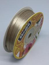 Лента атласная Skroll,3 мм,цвет№ 60 (бежевый)