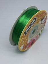 Лента атласная Skroll,3 мм,цвет№ 76 (зелёный)