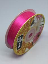 Лента атласная Skroll,3 мм,цвет№ 89 (ярко-розовый)