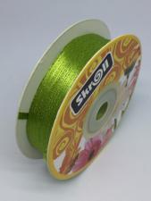 Лента атласная Skroll,3 мм,цвет№ 95 (жёлто-зелёный)