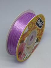 Лента атласная Skroll,3 мм,цвет№ 113 (лиловый)