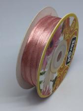 Лента атласная Skroll,3 мм,цвет№ 135 (грязно-розовый)
