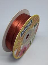 Лента атласная Skroll,3 мм,цвет№ 139 (терракотовый)