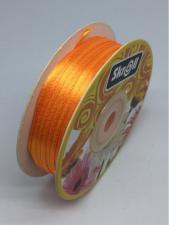 Лента атласная Skroll,3 мм,цвет№ 151 (оранжевый)