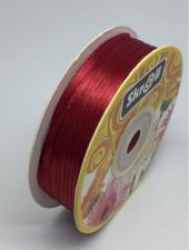 Лента атласная Skroll,3 мм,цвет№ 156 (тёмно-красный)