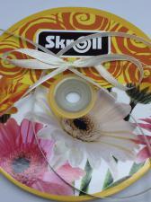 Лента атласная Skroll,6 мм,цвет№ 08 (слоновая кость)