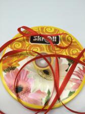 Лента атласная Skroll,6 мм,цвет№ 26 (красный)